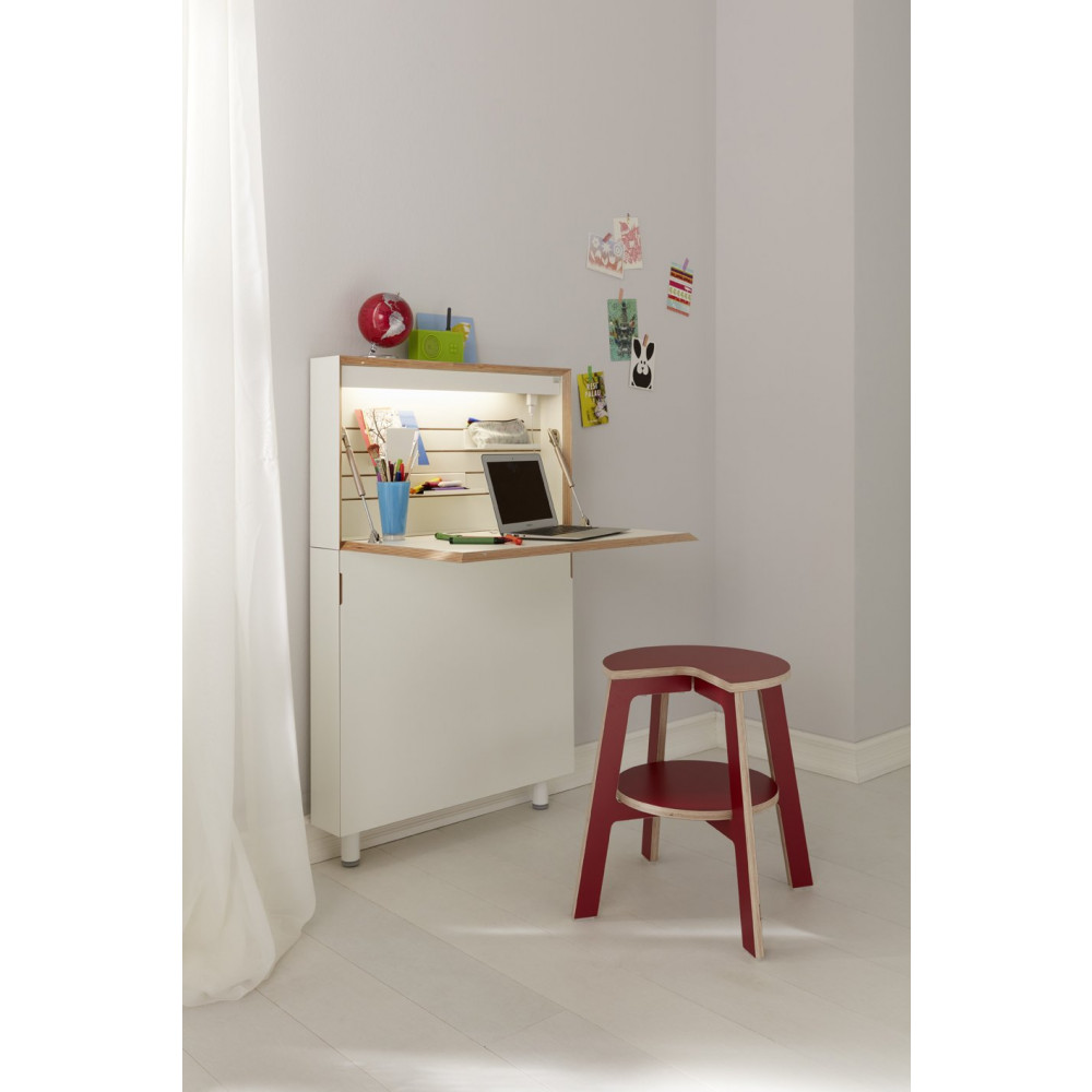 Schreibtisch Flatmate II | Weiß