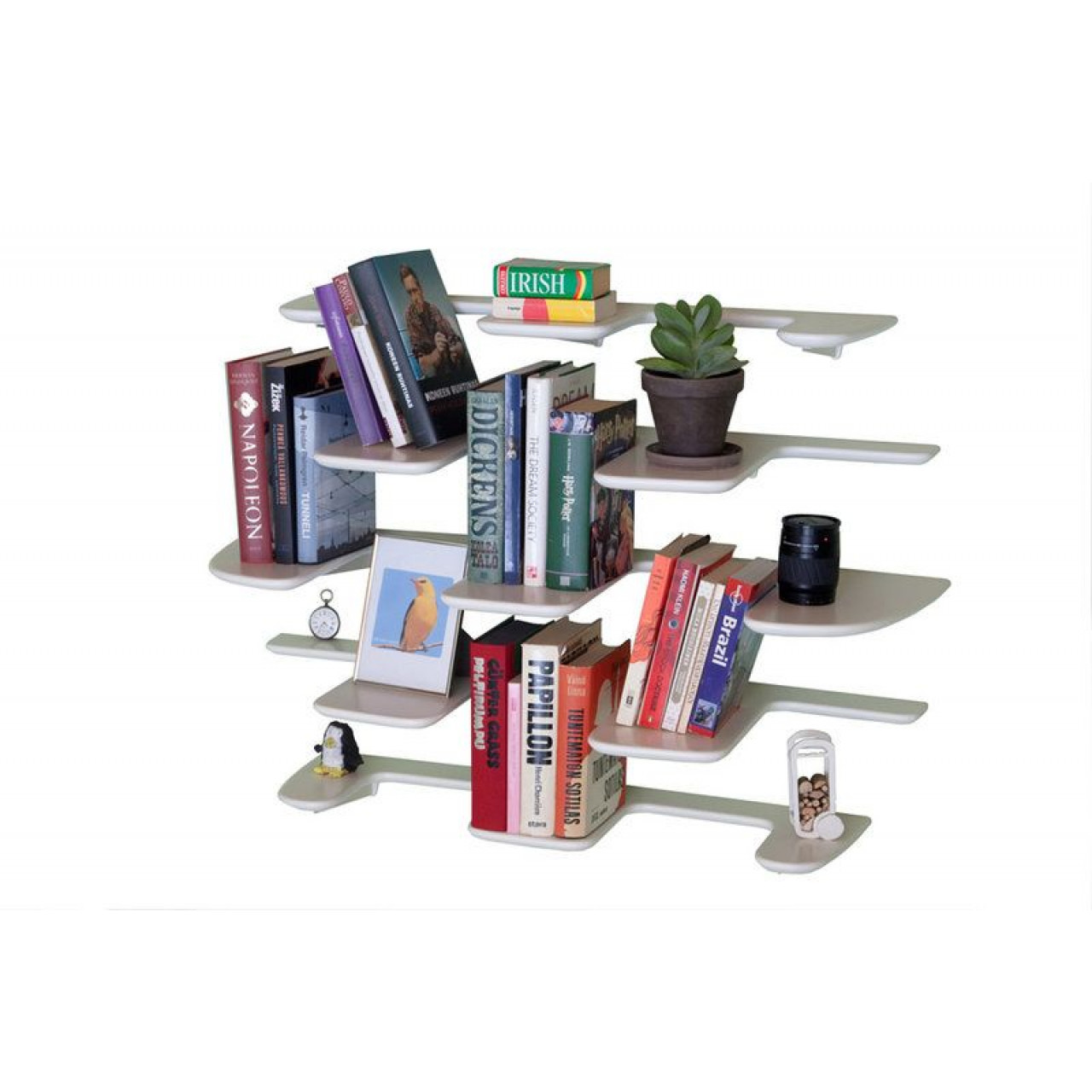 Cone Wall Shelf | White