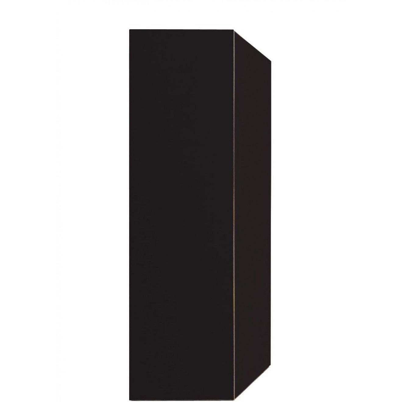 Wall Desk Flatbox   Black