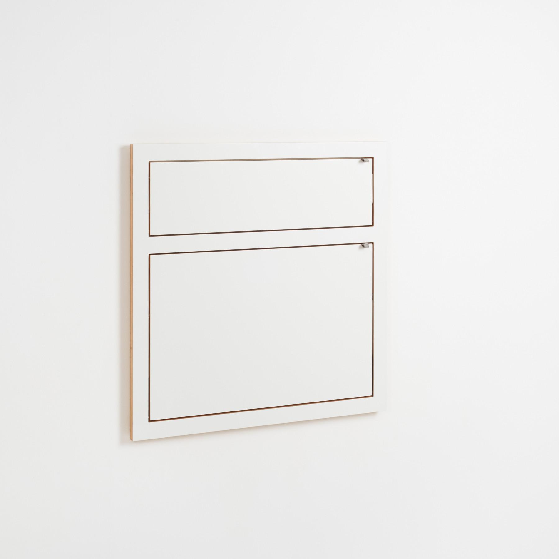 Staatsekretär/in Fläpps 80x80-2 | Weiß