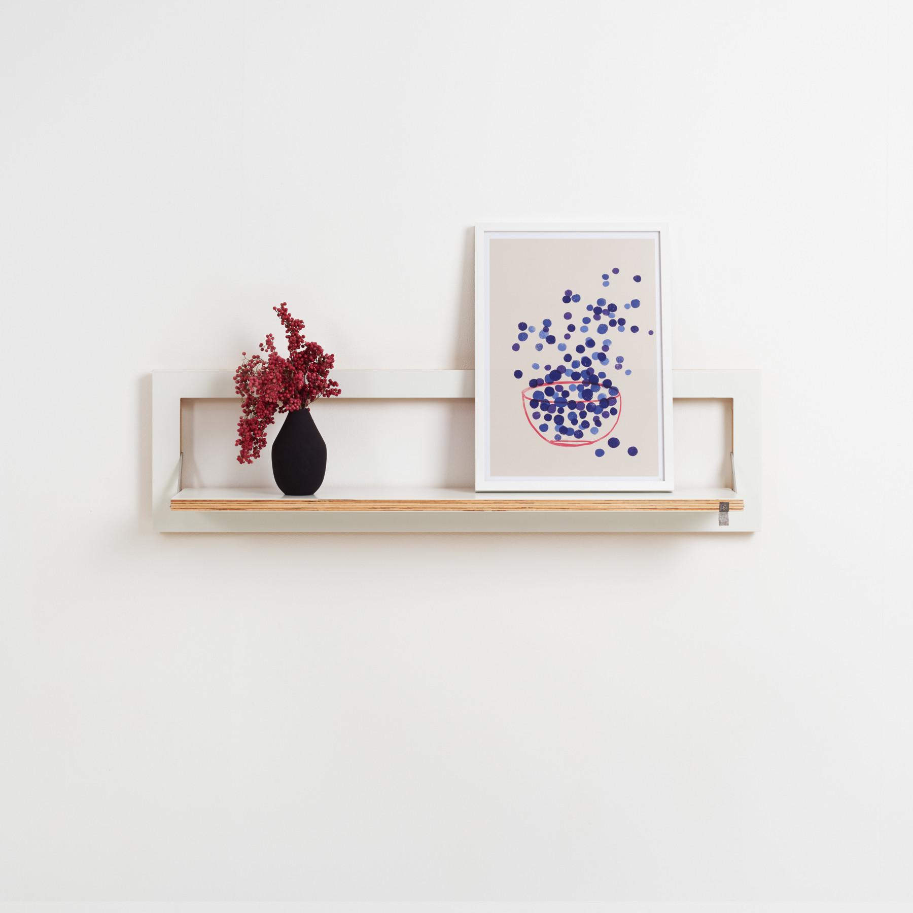 Shelf Fläpps 100×40 cm | White