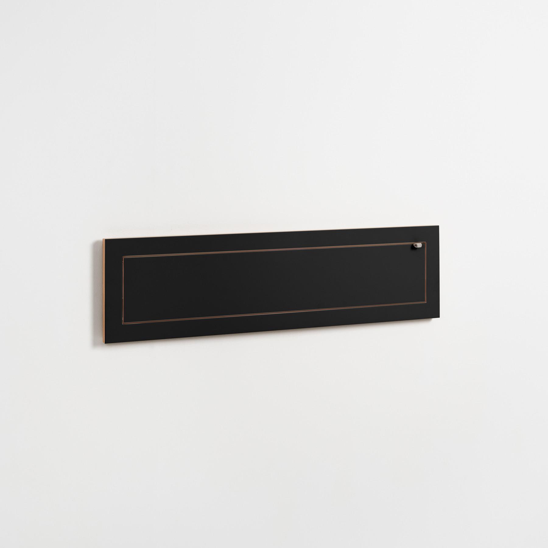 Shelf Fläpps 100×27cm | Black