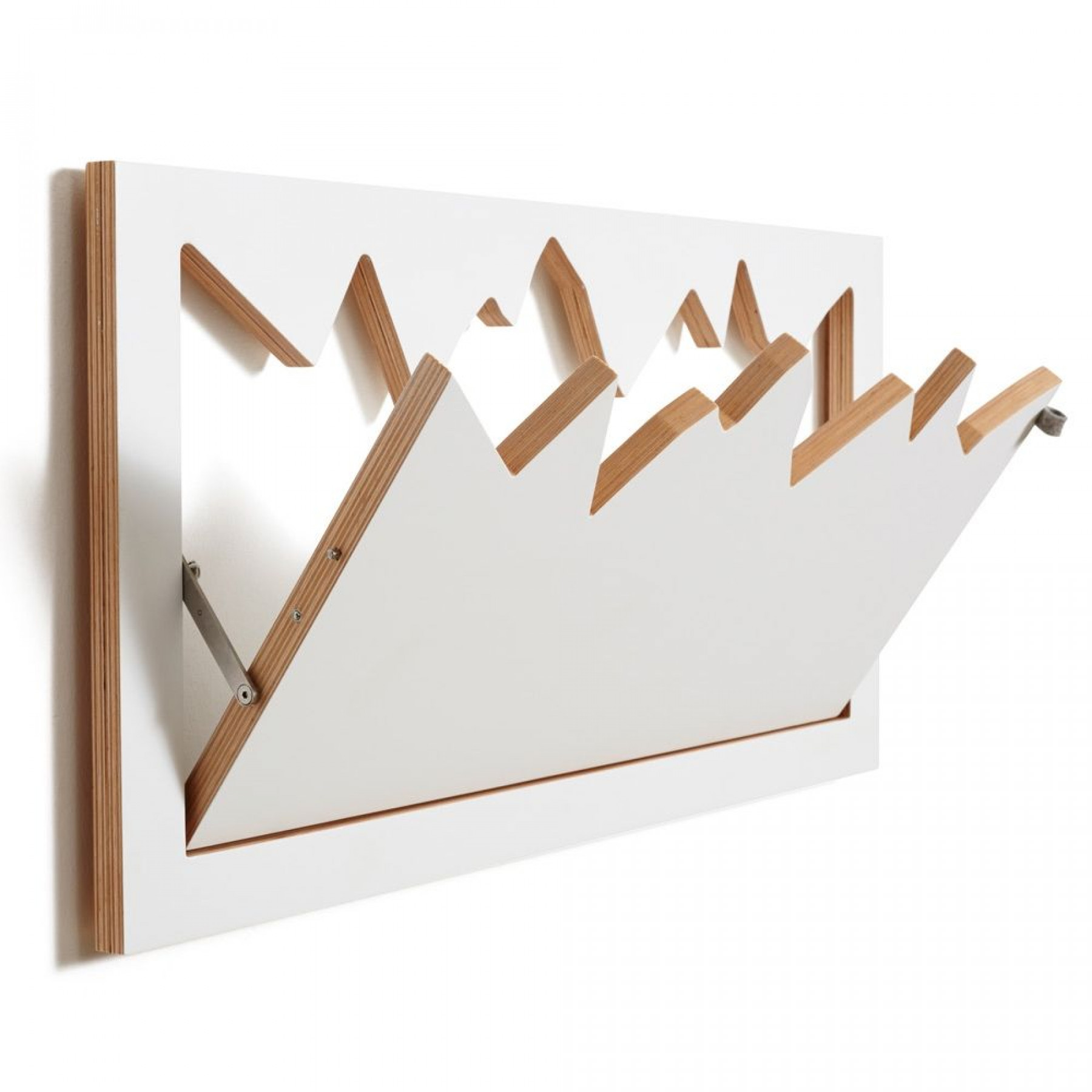 Coatrack Fläpps | White
