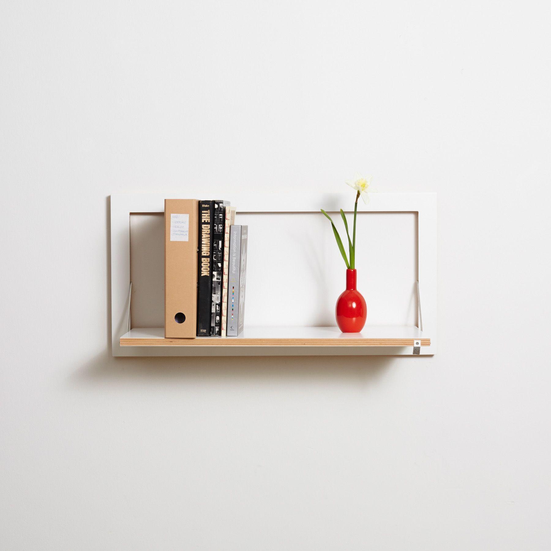 Shelf Fläpps 80 x 40 cm | White