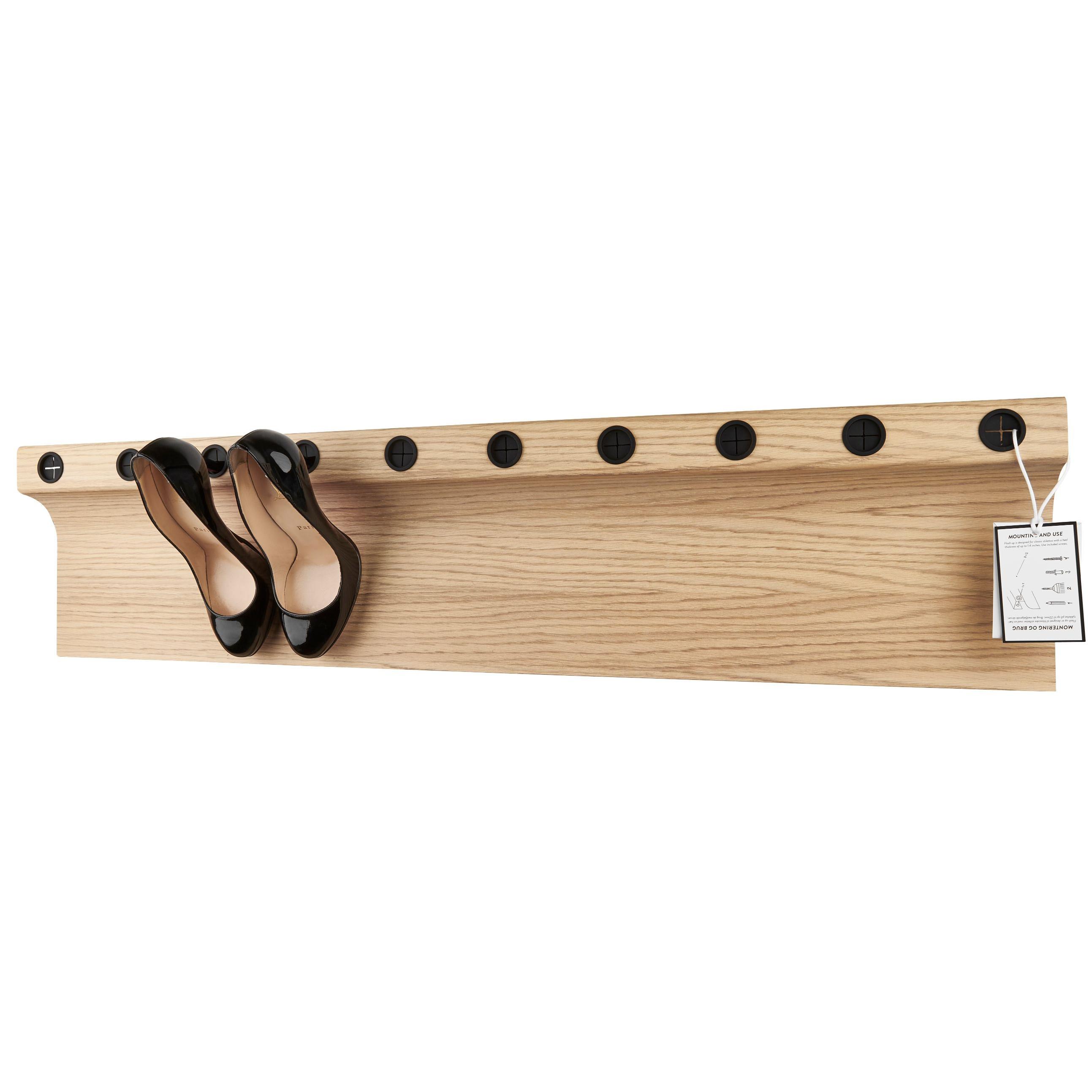 Shoe Rack Flash Up 100 | Oak