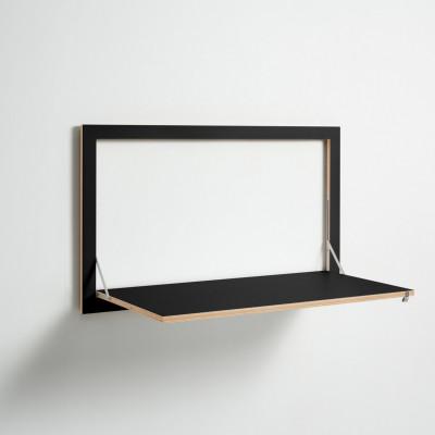 Wall Desk Fläpps 100 x 60 cm | Black