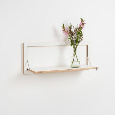 Regal Fläpps 100 x 40 cm | Weiß