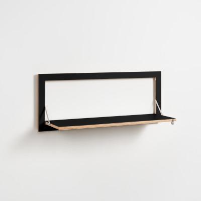 Regal Fläpps 100 x 40 cm | Schwarz