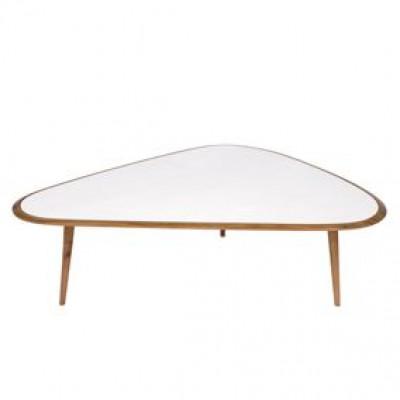 Fünfziger Jahre Tisch Groß | Weiß