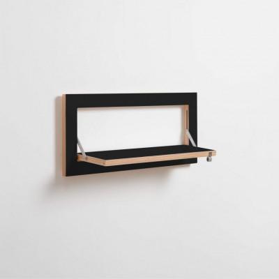 Regal Fläpps 60 x 27 cm | Schwarz