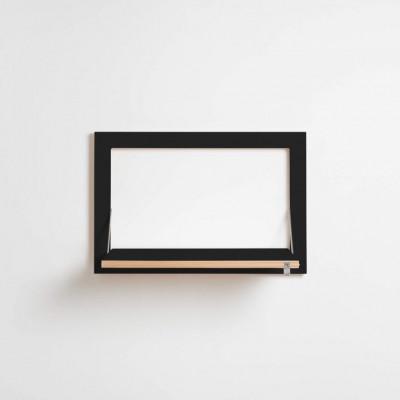 Regal Fläpps 60 x 40 cm | Schwarz