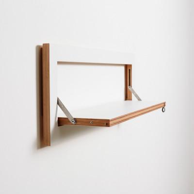 Regal Fläpps 80 x 27 cm | Weiß