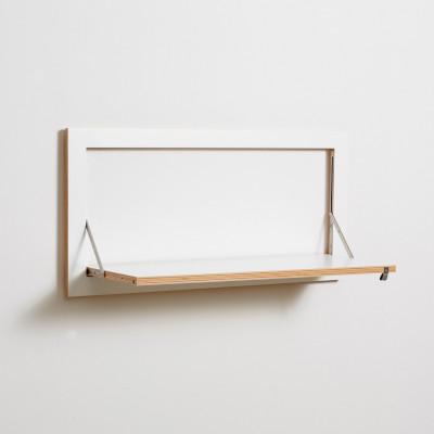 Regal Fläpps 80 x 40 cm | Weiß