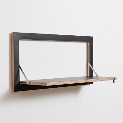 Regal Fläpps 80 x 40 cm | Schwarz