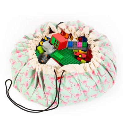 Spielzeug-Aufbewahrungstasche | Flamingo