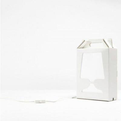 White Flamp Lamp White