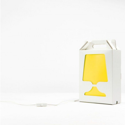 White Flamp Lamp Yellow Light