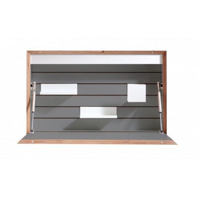 Wandschreibtisch Flatbox | Anthrazit