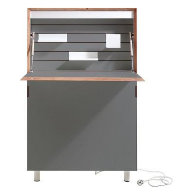 Schreibtisch Flatmate | Anthrazit