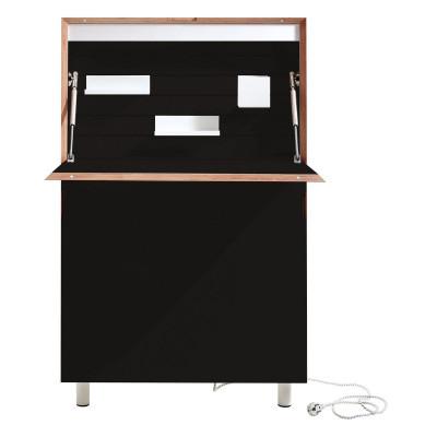 Schreibtisch Flatmate II | Schwarz