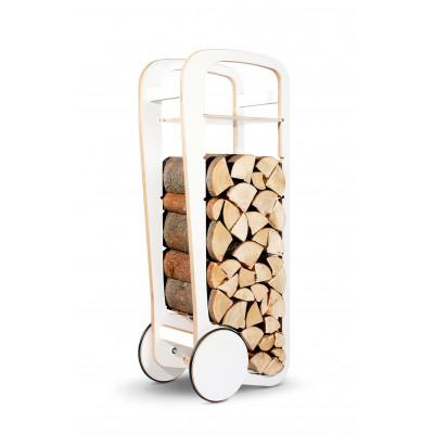 Holz-Trolley | Weiß