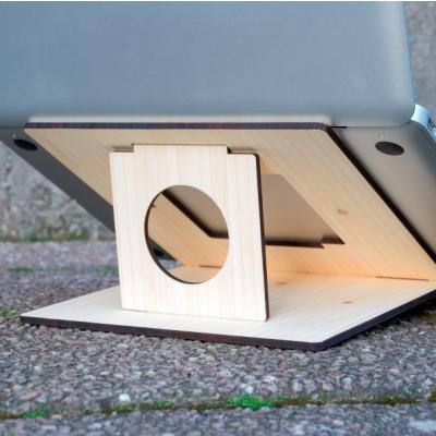 Flio Laptop-Ständer | Sonderausgabe Weißer Bambus