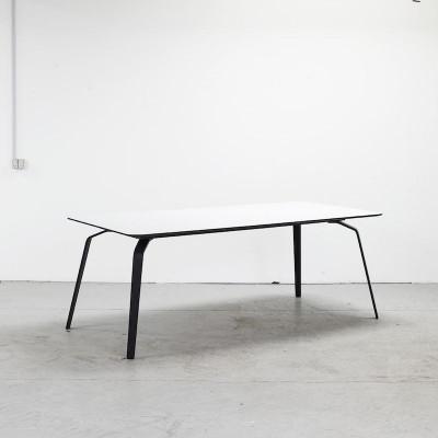 Tisch Float | Weiß Linoleum