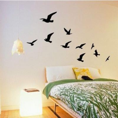 Vögel in Scharen