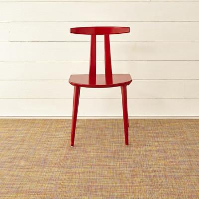 Teppich Mini Korbgeflecht 59 x 92 cm | Konfetti