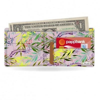 Klassische Brieftasche   Floral