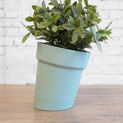 Distorted Flowerpot | Mint Green