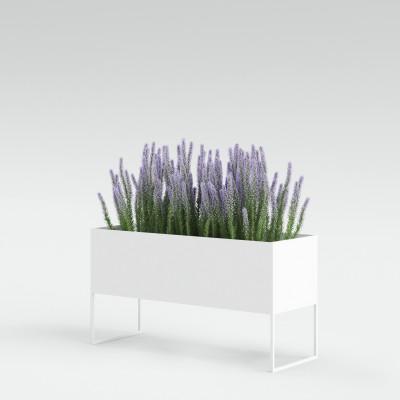 Pflanztopf Lang | Weiß