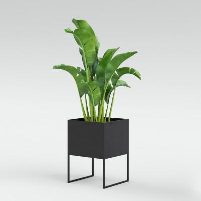 Pflanztopf Small | Dunkelgrau