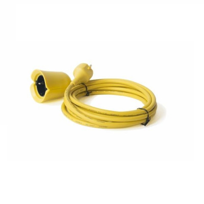 Flowerpower Extension Cord | Yellow
