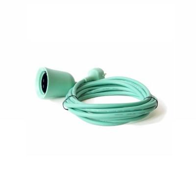Flowerpower Extension Cord | Mint Green