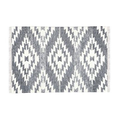 Teppich Flynn 230 x 160 cm   Dunkelgrau & Creme