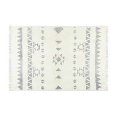 Teppich Flynn 230 x 160 cm   Grau & Creme