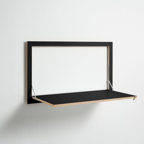 Staatsekretär/in Fläpps 100 x 60 cm   Schwarz