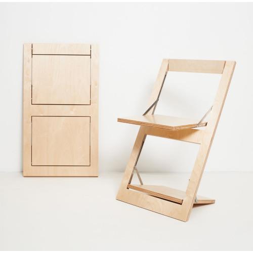 Folding Chair Fläpps | Birch Clear