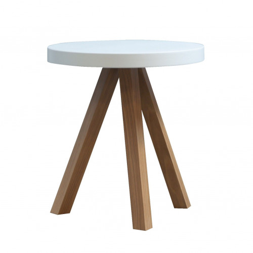 Flak Occasional Table White