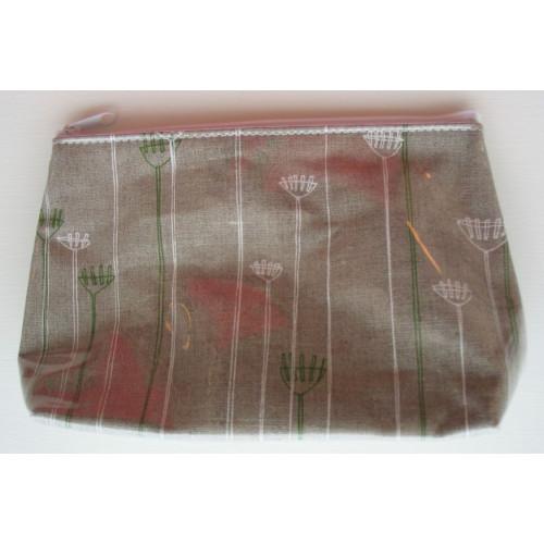 Cosmetic Bag Rake Flowers
