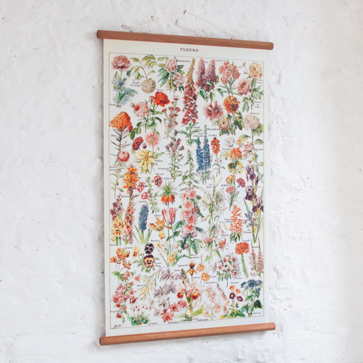 Vintage Poster Blumen