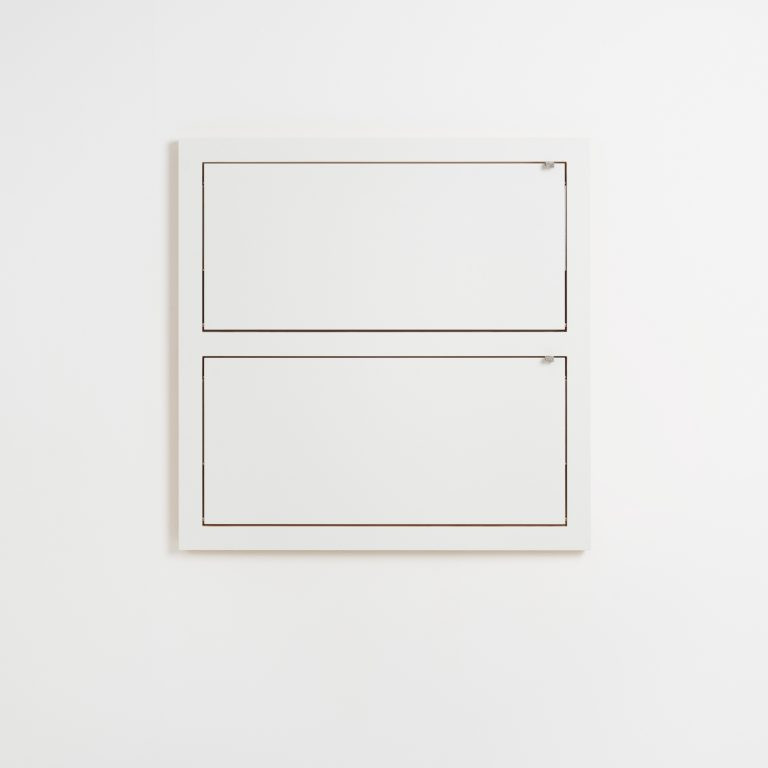 Shelf Fläpps Double 80 x 80 cm | White