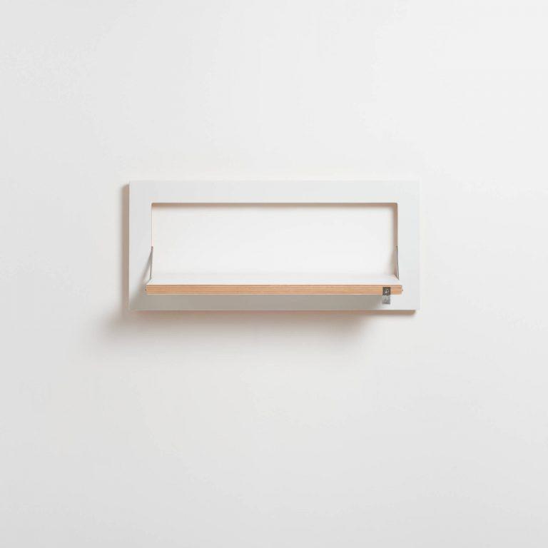 Legboord Fläpps 60 x 27 cm | Wit
