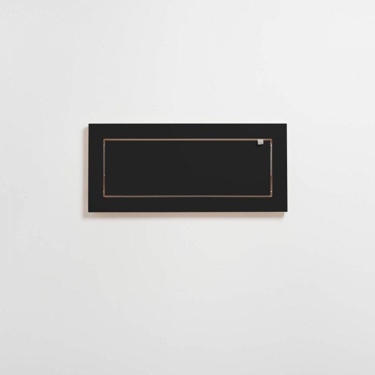 Shelf Fläpps 60 x 27 cm | Black
