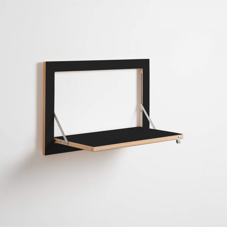 Shelf Fläpps 60 x 40 cm | Black