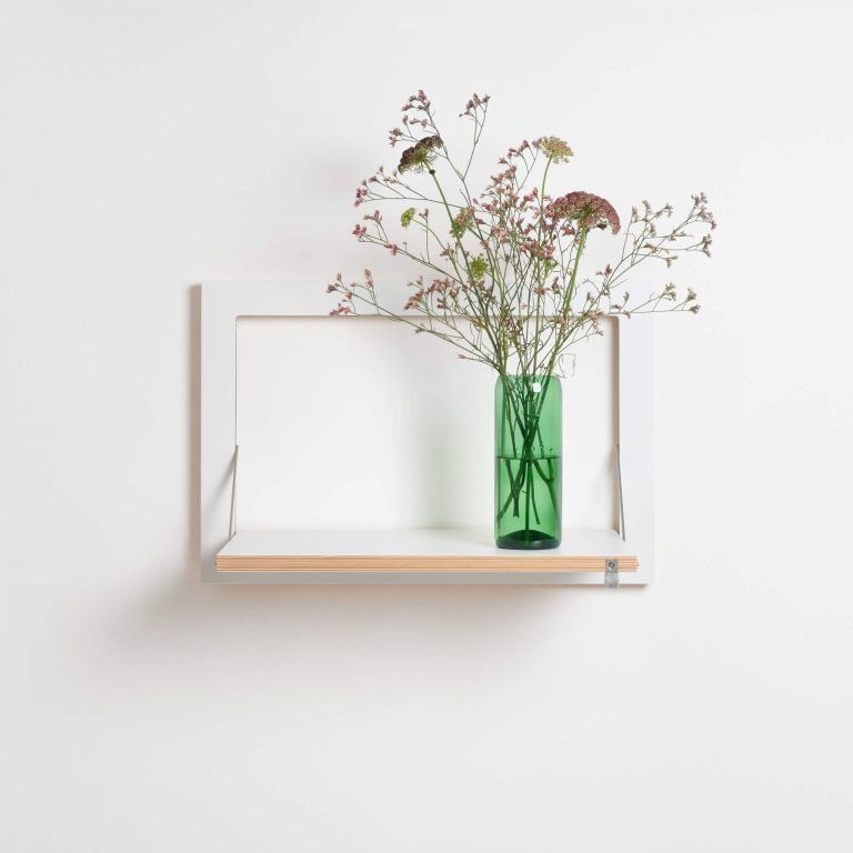 Shelf Fläpps 60 x 40 cm | White