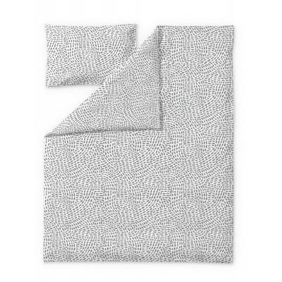 Duvet Cover Set Pilkkuva | Grey