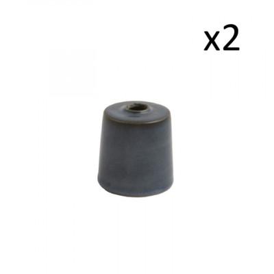 2er Set Vasen Oskar Lea D6 cm l Dunkelblau
