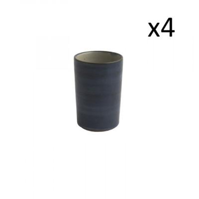 4er Set High Cups Oskar Lea 360 ml l Dunkelblau